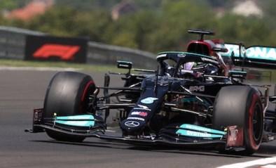 Lewis Hamilton net iets sneller dan Max Verstappen tijdens laatste oefensessie, Mick Schumacher crasht