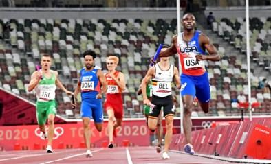 Negen landen in finale 4x400m gemengd, België in baan 8