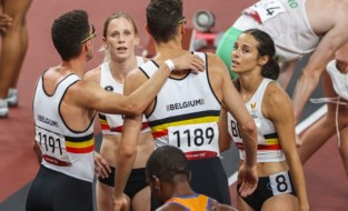 TEAM BELGIUM LIVE. Belgische sprinters worden vijfde in de 4x400 meter mixed relay