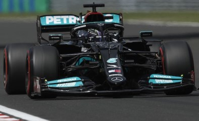 Lewis Hamilton verovert polepositie GP van Hongarije, Max Verstappen teleurgesteld derde