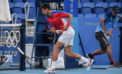 """Vervloekte"" Novak Djokovic grijpt overal naast in Tokio"
