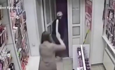 Dief probeert seksshop te overvallen maar had niet gerekend op goed voorziene winkelbediende