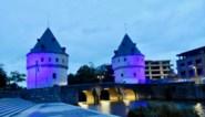 Stadhuis en Broeltorens kleuren blauw tegen mensenhandel