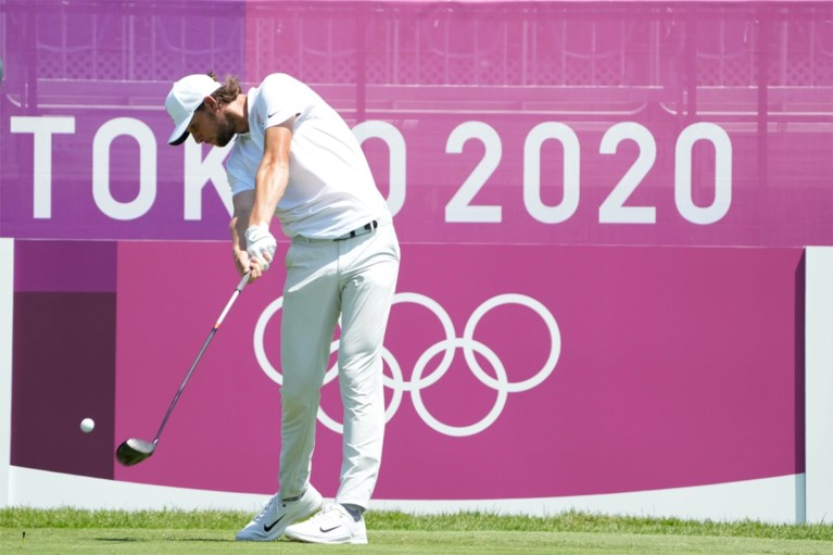 """Ontgoocheling overheerst bij Belgische golfers na 16e en 22e plaats, Schauffele pakt goud: """"De hoop op een medaille was er nog"""""""