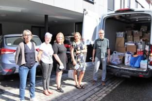 Burgerinitiatief zamelt goederen in en gaat een dagje helpen in Fraipont