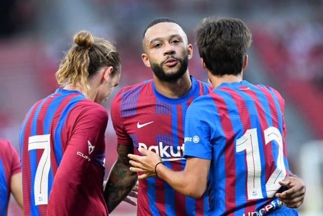 Heerlijke goal van Nederlandse makelij bij Barcelona: Memphis Depay scoort op assist van Frenkie de Jong