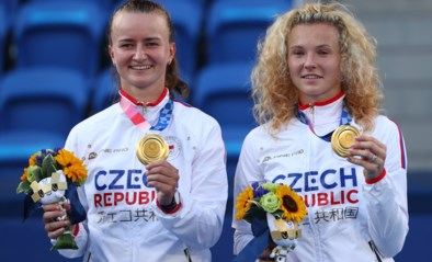 Krejcikova en Siniakova schenken Tsjechië tennisgoud in dubbelspel