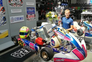 """Kartpiloot Ean (13) behaalt Europees brons: """"Toen ik 2,5 jaar was reed ik met kart rond het zwembad"""""""