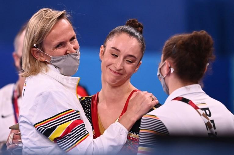 """Nina Derwael: """"Ik was eigenlijk met elke kleur van medaille blij geweest, maar dit is onbeschrijfelijk"""""""