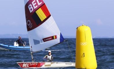 Alweer vierde! Emma Plasschaert zeilt schitterende medaillerace, maar stuit op betere Zweedse