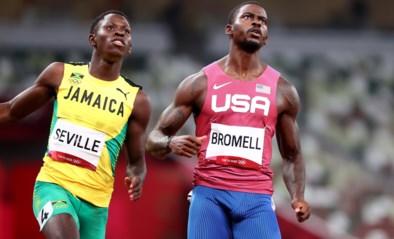 Trayvon Bromell, de snelste loper van het jaar, uitgeschakeld voor de finale van de 100 meter