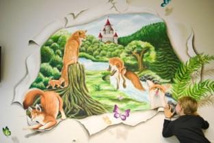 3D-muurschilderingen in kinderkamers UZ Brussel moeten pijn van patiëntjes helpen verzachten