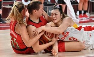 Geen groepswinst voor Belgian Cats na nederlaag tegen China, basketploeg is wel reekshoofd in kwartfinales