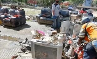 """""""Sommigen gaan nog spijt krijgen dat ze alles in de container hebben gegooid"""": veel slachtoffers watersnood blijken slecht verzekerd"""