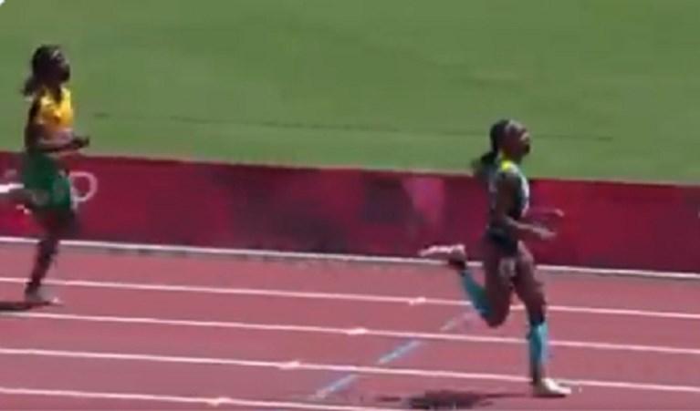 Uitbollen is niet altijd een goed idee: Jamaicaanse favoriete uitgeschakeld op 200 meter door dramatische misrekening