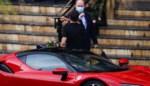 Albert II van Monaco gunt publiek een zeldzame blik achter zijn voordeur