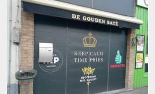 """De Gouden Saté in Overpoort verbouwt: """"We gaan frieten zelf twee keer bakken"""""""