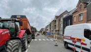 Aannemer begonnen aan nieuwe fietspaden in Leopoldlei