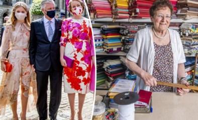 """""""Hoe broek van Filip hing op defilé, dat was geen reclame"""": hofleverancier Lena (86) stopt na drie generaties klanten"""