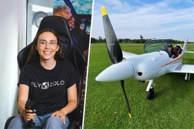"""Zara (19) wil solo wereld rondvliegen ondanks vliegtuigcrash van vader: """"Als er iets gebeurt, trek ik mijn parachute wel open"""""""