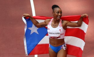 OS LIVE. Goud voor Puerto Rico op 100m horden