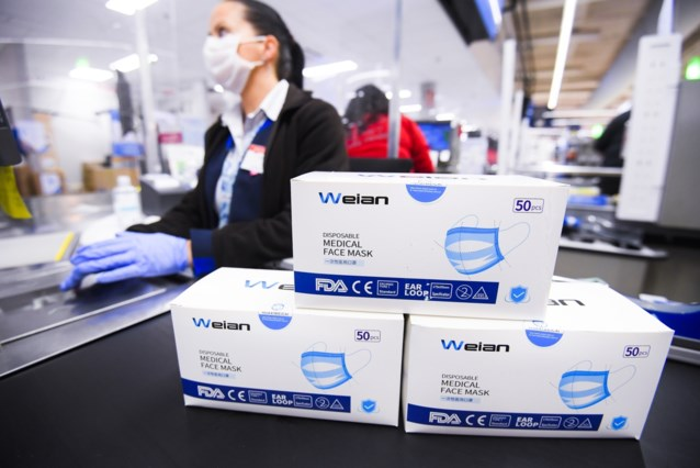 Onderzoek naar prijsafspraken voor mondmaskers in supermarkten
