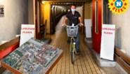 'Underground' bij het UZ Gent, waar 'mollen' zich per fiets verplaatsen