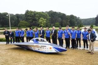 Agoria Solar Team stelt nieuwe wagen BluePoint Atlas voor