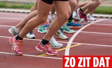 ZO ZIT DAT. Waarom lopen atleten in tegenwijzerzin op een piste?