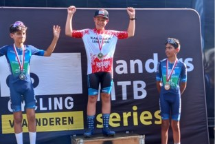 Jari Van Lee is Limburgs kampioen mountainbike