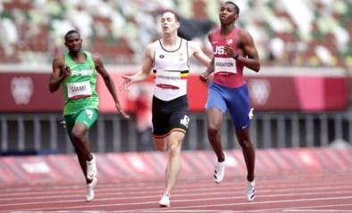 """Robin Vanderbemden trots op plek in halve finales 200 meter: """"Een mooie verrassing"""""""