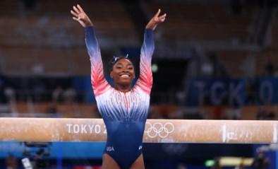"""Return levert Simone Biles luid applaus en bronzen medaille op: """"Zal deze medaille lange tijd koesteren"""""""