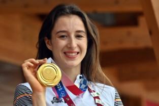Nina Derwael wordt woensdag gehuldigd voor haar gouden medaille