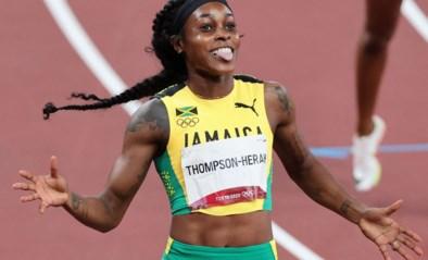 Elaine Thompson-Herah wint op de Spelen na de 100m ook de 200m met op één na snelste tijd ooit