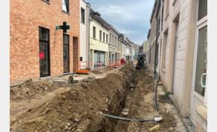 Gerdingerstraat opengebroken