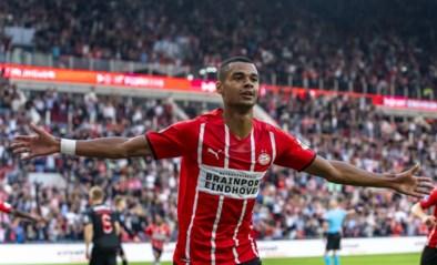 PSV met invaller Yorbe Vertessen zet reuzenstap richting play-offs Champions League tegen Midtjylland van Dion Cools
