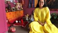 """In deze stad tref je veel Nepalezen aan, zoals Priyenka (22): """"Ik ben dan wel hier geboren, maar aan mijn dagelijkse routine voel ik wel dat ik in Nepal thuishoor"""""""