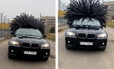 BMW krijgt plots een wilde bos haren