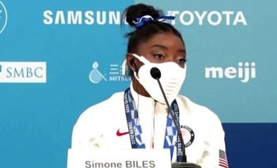 """Simone Biles na bronzen medaille: """"We zijn niet alleen entertainment, we zijn ook gewoon mensen"""""""