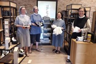 Trappistinnen zetten abdijpoorten opnieuw open voor zomerwinkel