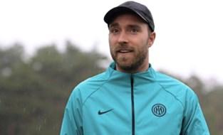 """Christian Eriksen keert voor het eerst na hartfalen terug naar Inter: """"Hij bevindt zich in een uitstekende toestand"""""""