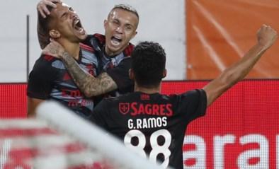 Vertonghen en Benfica winnen vlot in heenmatch van derde voorronde Champions League bij Spartak Moskou