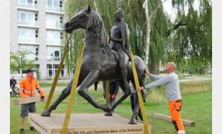 De graaf van Horn is weer even thuis (of toch zijn standbeeld)