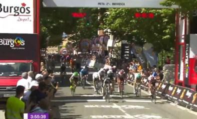 Tweede etappe in Ronde van Burgos is prooi voor Juan Sebastian Molano, Jordi Meeus vierde