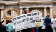 Franse vakbonden roepen op tot staking in zorgsector tegen verplichte vaccinatie
