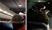 Passagier die stewardessen betast en bemanningslid aanvalt wordt vastgeplakt met ducttape