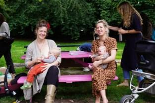 """Tientallen Gentse mama's geven tegelijk borstvoeding in het park: """"Tonen dat dit normaal is"""""""