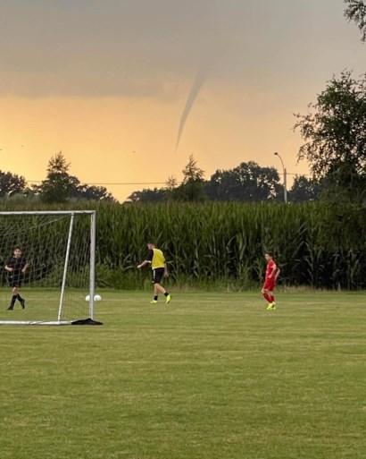 Opvallend weerfenomeen gespot in Vlaanderen: getuigen kunnen 'funnel' fotograferen