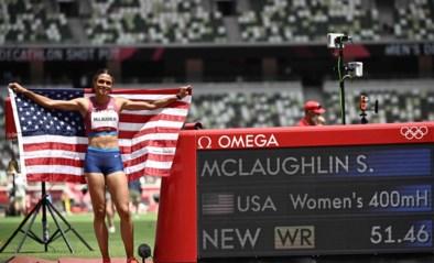 OS LIVE. Amerikaanse McLaughlin verpulvert wereldrecord in finale 400m horden, brons voor 13-jarige skatesensatie