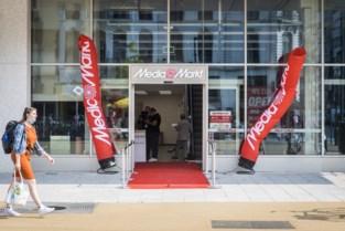 Eerste winkel in Antwerp Tower: feestelijke opening Media Markt